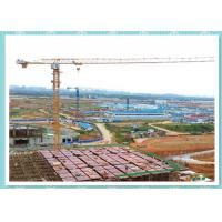 Quality Self Erecting Construction Tower Crane , Moldel ZT5610 Topless Tower Crane On Rails for sale