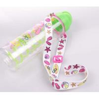 Best Good quality flat polyester sublimation printing wine glass holder lanyard wholesale