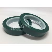 China Flame Retardant Green Polyester Mylar Tape Pressure Adhesive Type on sale