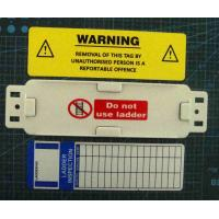 Best Plastic PVC Scaffolding Tag Holder For Workplace Safety Sign Display wholesale