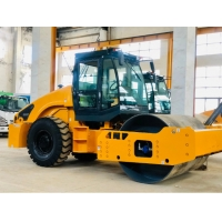 Quality 2900mm 10 Ton Vibratory Road Roller With 82KW Diesel Power for sale