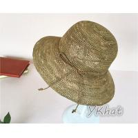 Best 2017 Hot Colorful Boater Straw Hat With High Quality Wholesale   100% wheat straw color  coffee&white  etc wholesale