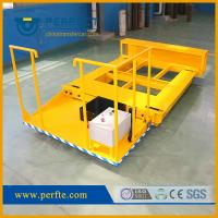 Best China manufacturer high quality steel plates flat pallet transfer trolley wholesale