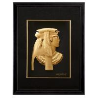 Best Office Decoration Gold Foil Crafts , soft as silk 3D Egypt Golden gifts wholesale