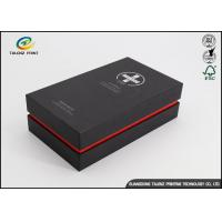 Quality Luxury Rigid Paper Packaging Cardboard Gift Boxes CMYK Full Color Offset Printing for sale