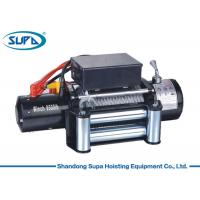 China Roller Fairlead Mini Hoist Winch , Light Duty Electric Winch Good Water Resistance Motor on sale