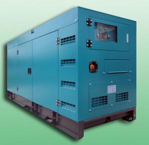 Quality Open / Silent 100KVA Diesel powered portable generator set , diesel backup generators for sale