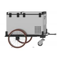 Quality Three Wheels Scooter Cargo Trailer , 125L Mobile Cooler Trailer With 1 Year Warranty for sale