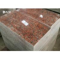 China G562 Maple Red Granite Stone Tiles For Flooring And Wall Cladding on sale