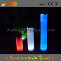 Quality Remote Control LED illuminated Wedding Decor Flower Pots With 16 Colors Changeable for sale