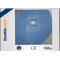 Quality CE Approved Custom Procedure Packs SMS Eye Drape Sterile For Eye Operation for sale