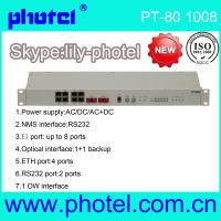 Buy cheap PDH Fiber Optic Multiplexer fibre to 8E1 from wholesalers