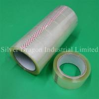 Transparent BOPP packing tapes 48mm x 90yards, carton sealing tapes
