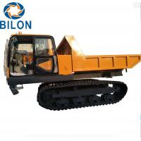Quality 4 - 6L Capacity  Dump Truck , 12 Ton Tracked Dump Truck for sale