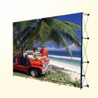Best Large Trade Show Fabric Banner Stand Displays Curtain Walls With Customized Designs wholesale
