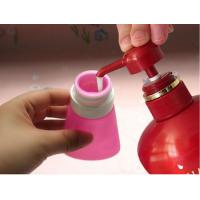 Best 2017 new bright light colour leak proof squeezable, BPA free, Food Grade Protable Silicone Travel Bottle wholesale