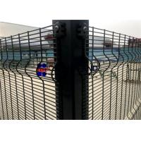 """Quality 76.2mm×12.7mm Wire Mesh Security Fencing 3""""×0.5"""" Hole Size ISO Approval for sale"""