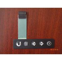 China OEM Medical Equipment Metal Dome Tactile Membrane Switch Panel with Flat Cable on sale