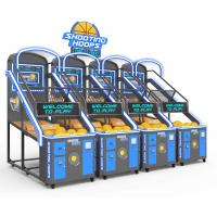 Quality Coin Operated Street Basketball Arcade Machine For 3 Person English Version for sale
