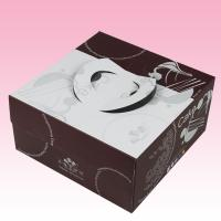 China custom low cost of corrugated cardboard boxes with hanger for birthday cake on sale