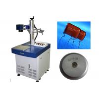 China High Precision Laser Metal Marking Machine Desktop Fiber Laser Printer on sale