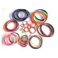 Quality AS568 fuel hydraulic heat resistant sealing rubber silicone colored o rings for sale