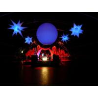 China Hanging Inflatable Led Light Ball for Advertisement and Party Supplies on sale