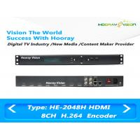 Best 8 Channel HD H.264 / MPEG4 Audio Video Encoder With 8CH HDMI Input / IP Output wholesale