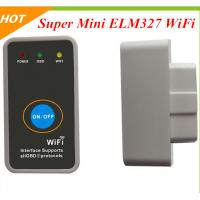 Buy cheap WiFi OBD2 ELM327 Apple Iphone Ipad PC ,Super mini ELM327 wifi with power switch from wholesalers