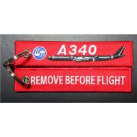 Best A340 Remove Before Flight Red Keychain wholesale