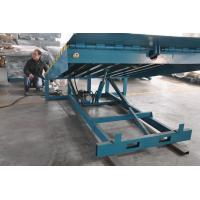 Quality 6000Kg Stationary Container Loading Dock Ramp , Adjustable Hydraulic Dock Levelers for sale