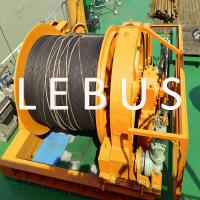 Quality Hydraulic Marine Offshore Platform Or Drilling Rig Boat Towing Winch for sale