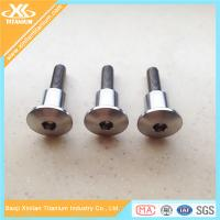 China Titanium Hex Socket Pan Head Bolts For Racing Car