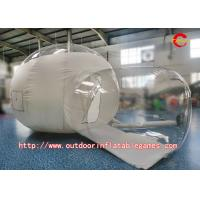 Best Outdoor Camping PVC Inflatable Clear Tent Bubble Room With Blower wholesale