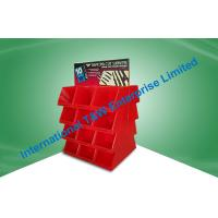 China Cardboard Pallet Display,with cells Suitable Pre-filling for supermarket and retail store on sale