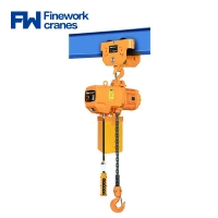 Buy cheap Finework 5 Ton Electric Chain Hoist For Overhead Crane from wholesalers