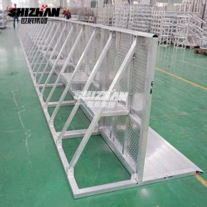 Quality Outdoor Event Concert Crowd Control Barriers Spigot or bolt Truss 1000mm for sale