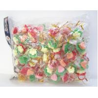 China Colorful Ring Shape Compressed Candy In Bag Funny Lovely Toy Baby Candy on sale