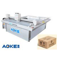 Best DCZ50 corrugated cardboard carton box sample maker flatbed cutter table machine wholesale
