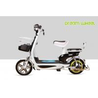 China Small Electric Bicycle 350 Watt Scooter Steel Lovely Drum Brake Long Travel Distance on sale