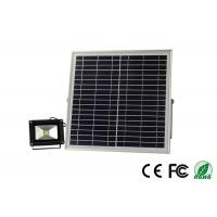 China Lithium Battery 12v 15w Commercial Solar Flood Lights With PIR Sensor on sale