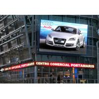 China Ultra Slim electronic Outdoor Advertising LED Display with control software , digital billboards on sale