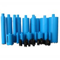 Quality Blue Color Diamond Core Drill Bit For Drilling Reinforced Concrete Stone Marble for sale