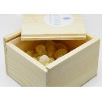 Quality Handmade Customized Wooden Crate Storage Box , Natural Pine Wooden Crate Box for sale