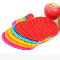 Best Silicone Apple Table Heat Resistant Mat Cup Coaster Cushion Pad wholesale