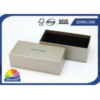 Best Grey Luxurious Printed Rigid Art Paper Gift Box / Custom Logo Sunglass Packaging Boxes wholesale