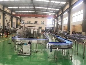 Quality 10000BPH Liquid Nitrogen Injection Juice Bottle Filling Machine 2000ml for sale