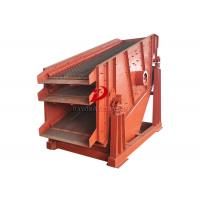 Quality Inclined Angle Linear Triple Deck Vibrating Screen High Production Capacity for sale