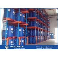 China Hot Rolled Steel Drive In Pallet Racking Heavy Duty Racks For Warehouse on sale