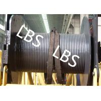 Quality 250KG Small Type Wire Rope Winch Drum  with Lebus Grooving For Crane Area for sale